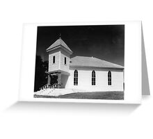 Methodist Church, Smith County Tennessee Greeting Card