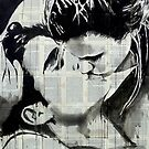 kissing by Loui  Jover