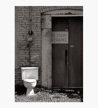 The Electric Outhouse Photographic Print