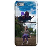3  Kids on a Swing iPhone Case/Skin
