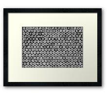 45 Brass #2 (Black & White) Framed Print