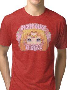 Usagi shirt Tri-blend T-Shirt