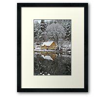 One day in winrter Framed Print