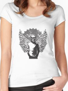 The Skull Man Women's Fitted Scoop T-Shirt