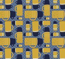 Retro Thermos Pattern by megsneggs