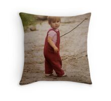 My Walking Stick Throw Pillow