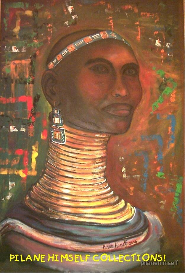 Ndebele Lady by pilanehimself