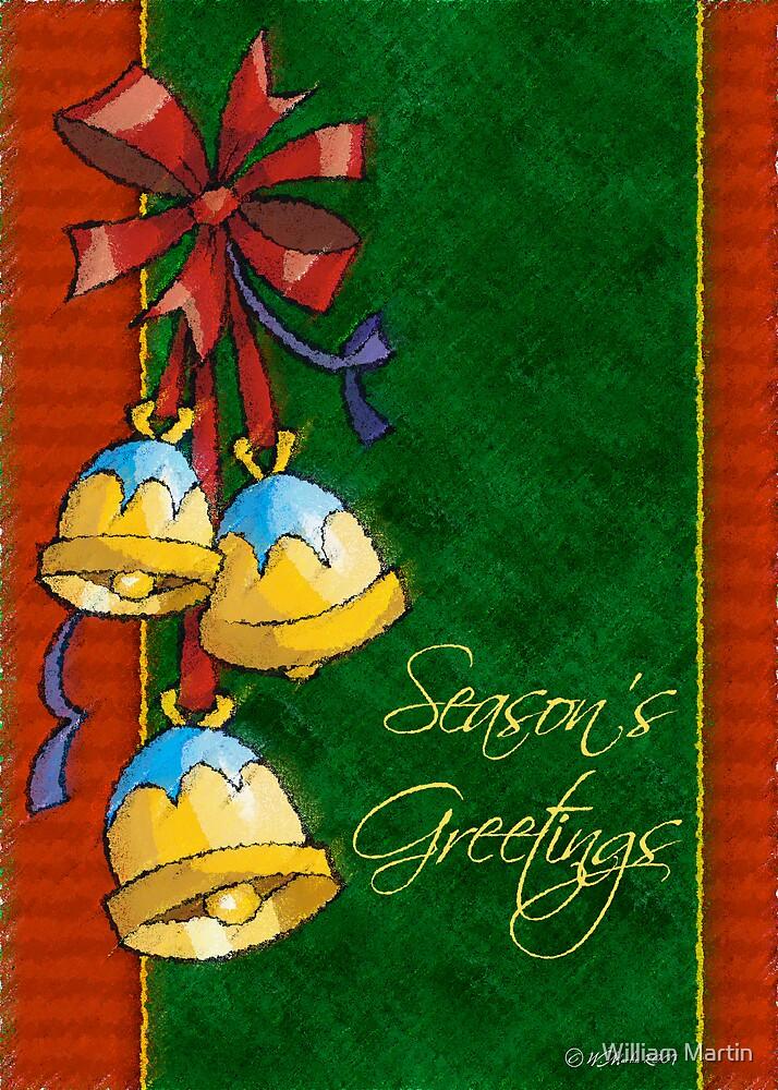 Christmas Bulbs by William Martin