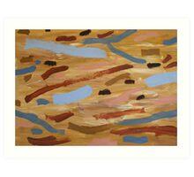 Brown Water 1 Art Print