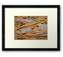 Brown Water 1 Framed Print