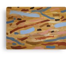 Brown Water 1 Canvas Print