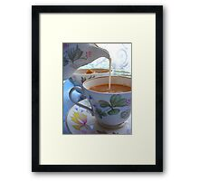 Fancy a cuppa? Framed Print