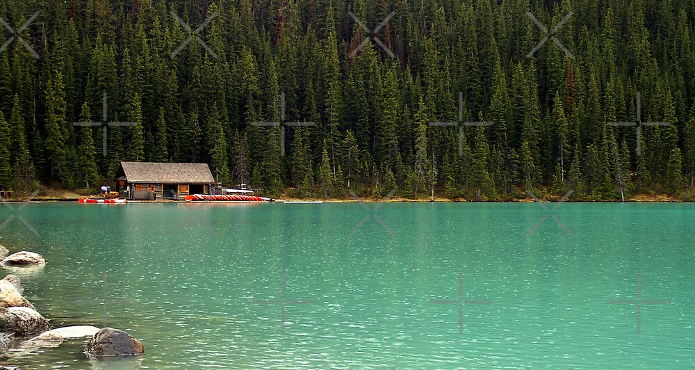 Lake Louise - Banff National Park by Tina Renaud
