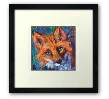 Earth Keeper: Red Fox Framed Print