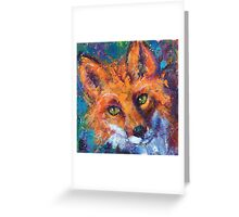 Earth Keeper: Red Fox Greeting Card