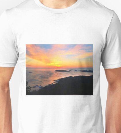 Sunrise on Sugarloaf Mountain  Unisex T-Shirt