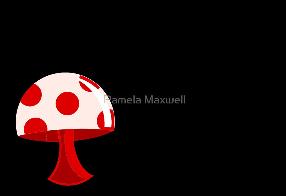 Delicious Mushroom by Pamela Maxwell