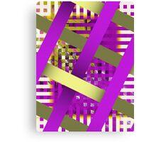 Decorative Weave Canvas Print