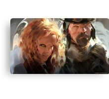 Rynn and Sukar Canvas Print