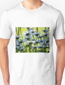 End of Summer, White Daisies II  (1407070407VA) T-Shirt