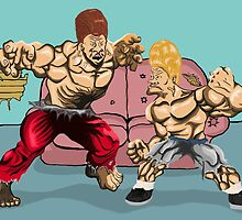 Beavis and Butthead by Connor Piper