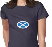The Saltire  Womens Fitted T-Shirt