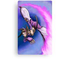 Street Fighter IV - Juli Canvas Print