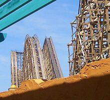El Toro Roller Coaster by kjophoto