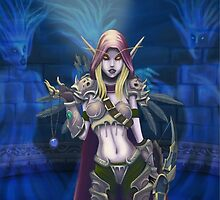 World of Warcraft - Lady Sylvanas by 57MEDIA