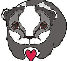 Badger in Love by HimalayanP