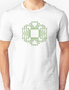 Electric Circuit Board Processor Unisex T-Shirt