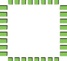 Electric Circuit Board Processor Sticker