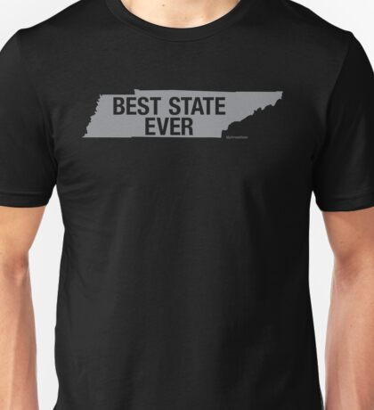 Tennessee - Best State Ever - Tennessee Gifts Unisex T-Shirt
