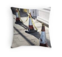 'Cone Dancing?' Throw Pillow
