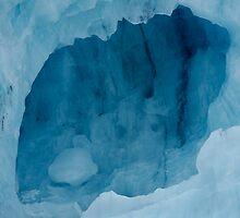 Blue Ice Cave by Steve Bulford