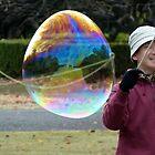 Restrain That Bubble ! by kibishipaul