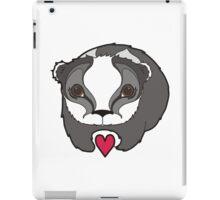 Badger in Love iPad Case/Skin