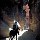 Petra Horseman by Mark Higgins