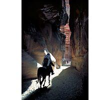 Petra Horseman Photographic Print