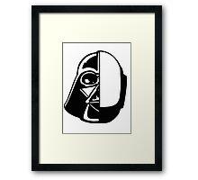 DAFT VADOR Framed Print