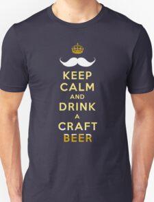 KEEP CALM - CRAFT BEER Unisex T-Shirt