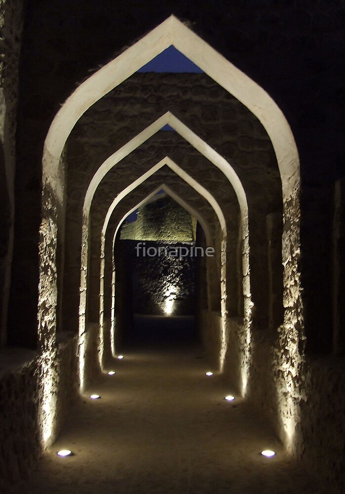 Bahrain fort by fionapine