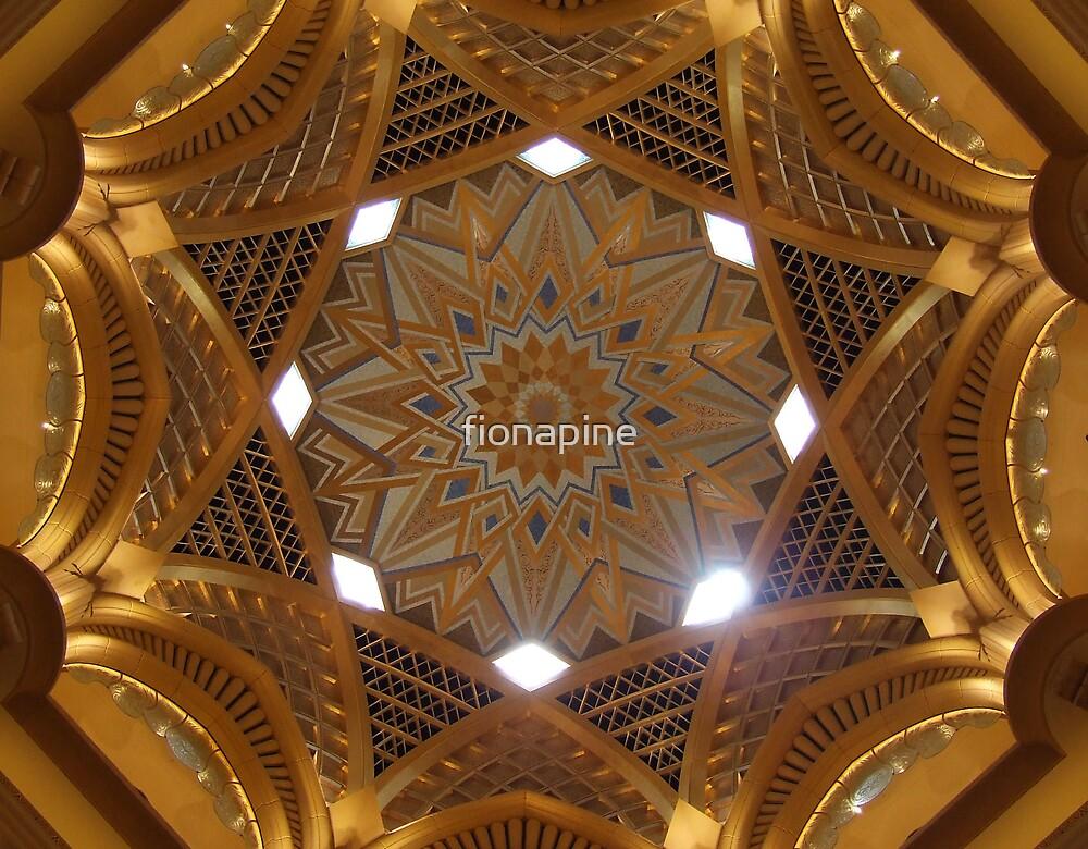 Emirates palace Abu Dhabi by fionapine