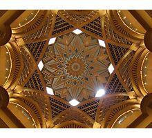 Emirates palace Abu Dhabi Photographic Print