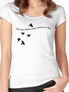 Blackbird Women's Fitted Scoop T-Shirt