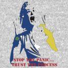 Stop the panic by Jonathan baez