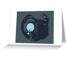 Minimalist 343 Guilty Spark from Halo  Greeting Card
