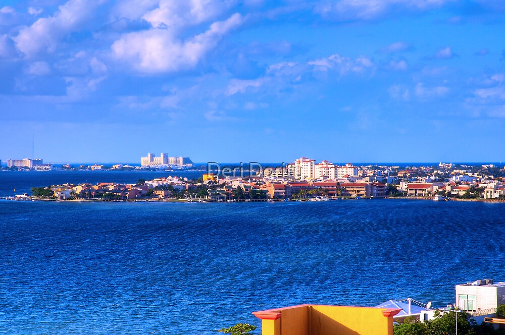 Cancun, Mexico by Deri Dority