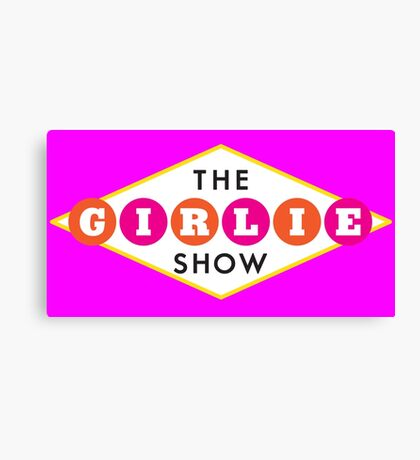 The Girlie Show Canvas Print