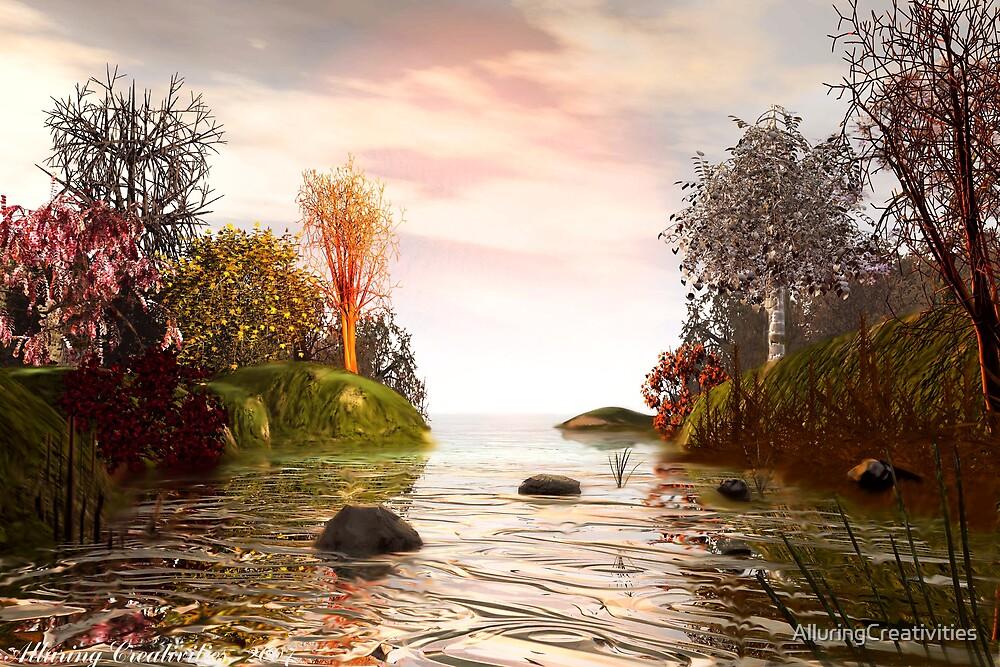 Natures Autumn Rainbow by AlluringCreativities